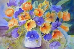 Tulpen und Annemonen